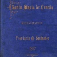 Restauración de Santa María de Lebeña