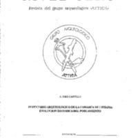 Inventario arqueológico de la comarca de Liébana: Evolución Histórica del poblamiento