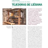Liébana (Cantabria) : curso y recuperación de telares : tejedoras de Liébana
