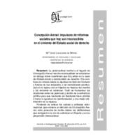 Concepción Arenal: impulsora de reformas sociales que hoy son reconocibles en el cimiento del Estado social de derecho