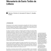 Libro de las Escrituras del Monasterio de Santo Toribio de Liébana