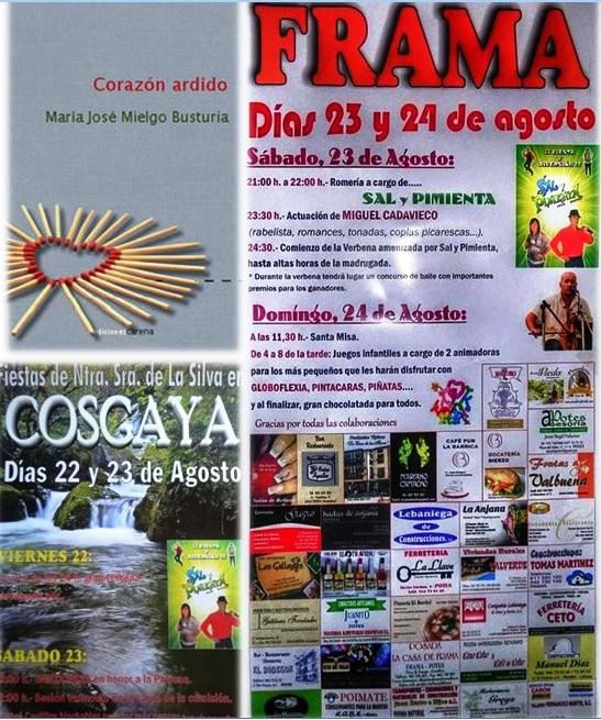Noticias de agosto 2014 del Valle de Liébana, Cantabria, España