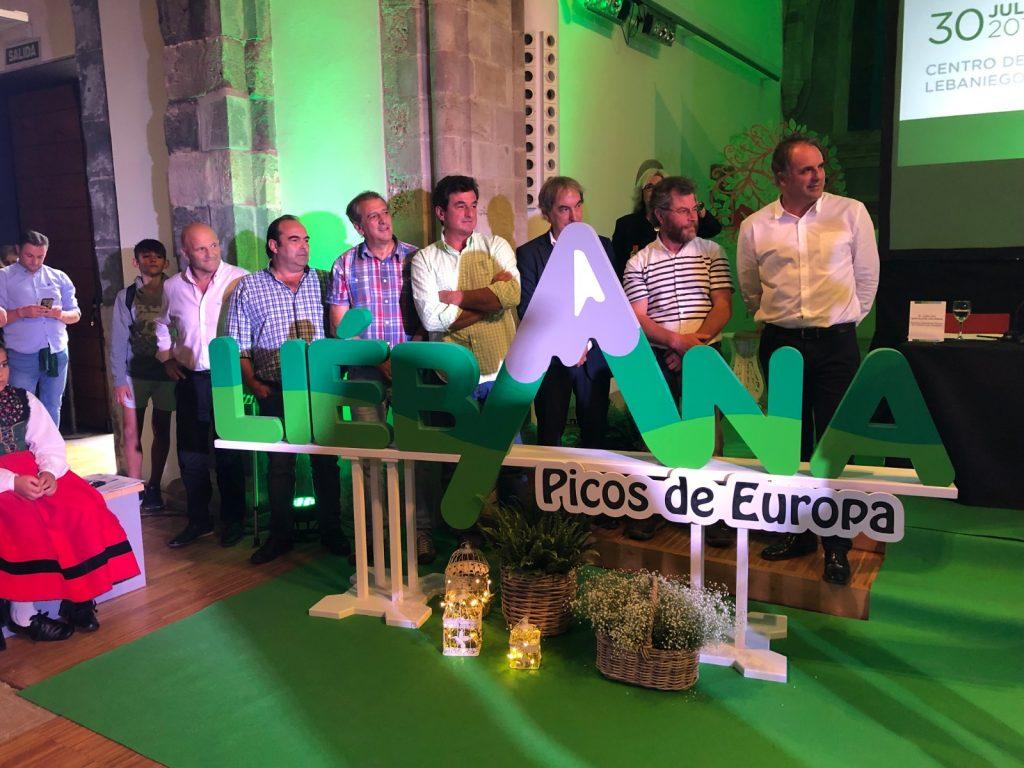 Alcaldes de Liébana en una presentación previa del Plan. Pulse para verla más grande